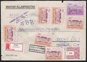Ungarn Magyar Posta Brief mit Stempel LÖKÖSHAZA - Va102