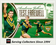 Select NRL Limited Edition Case Card: 2007 NRL Champions CC6 Andrew Johns