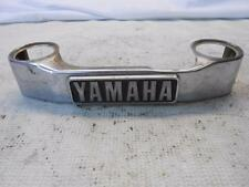 1982 YAMAHA XS650 HERITAGE SPECIAL FRONT FORK TRIM EMBLEM TRIPLE COVER 82 XS 650