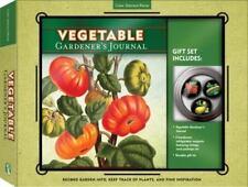 Vegetable Gardener's Journal & Magnet Gift Set: Record Garden Info, Keep Track o