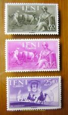 EBS Ifni 1953 Pro Indígenas - Agriculture & Caravan - Edifil 122-124 MNH**