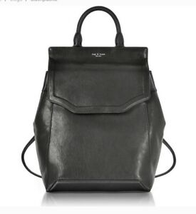 Rag & Bone Bag New York Black Leather Pilot li Backpack RRP £420