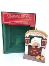 Hallmark Windows of the World Holland Christmas Ornament Vrolyk Kerstfeest 1986