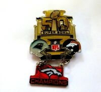 Denver Broncos Super Bowl 50 Large Dangle Pin, Peter David Style by Wincraft