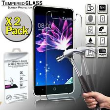 2 Pack Real Tempered Glass Screen Protector Cover For Doogee X10