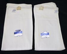Vtg NOS Argo Knit White Knit Winter Thermal Long Leg Panties Lot 2 Deadstock L
