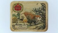 1976 Stella Artois Le Vieux Moulin d'el Val Ittre Beer Coaster