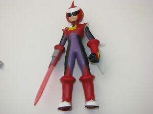"10"" Megaman NT Warrior Protoman Action Figure Toy Red Purple"