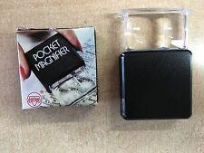 sliding pocket magnifier with 3x/5x lens