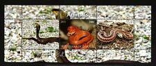 1 DJIBOUTI REPUBLIC- 2011 .ANIMALS.FAUNA. snakes .BLOCK MNH**.
