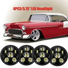 "4PCS 5.75 5-3/4"" inch LED Headlight Lamp for Chevy GMC Corvette C1 C2 1963-1982"