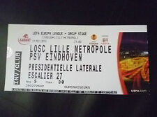 Tickets- 2011 UEFA Europa League- LOSC LITTLE METROPOLE v PSV EINDHOVEN, 17 Feb