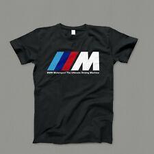 🔥Camiseta Polo BMW M /// E46 E90 E30 E36 Motorsport M3 M5 Serie 3 Coche Negra🔥