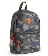 Aeropostale Men's  Camouflage Laptop Backpack Book School Bag Blue Green NWT