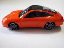 Herpa (Germany) Orange Porsche 911 Taarga 996 Plastic 1:87 NIB