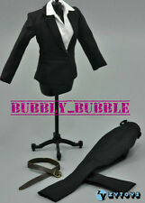 "1/6 Female Business Career Suit Set For 12"" Hot Toys Phicen Figure SHIP FROM USA"