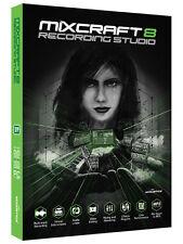NUOVO Acousica Mixcraft 8 studio di registrazione sequencer DAW IN SCATOLA UFFICIALE Regno Unito BOX DVD