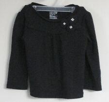 babyGAP Girls Size 18-24 Months Black Long Sleeves Tops ~ Shirt