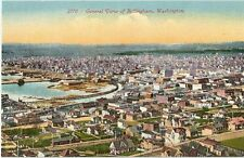 Old Vintage Postcard , #2770 General View of Bellingham, Washington,  USA, 1907