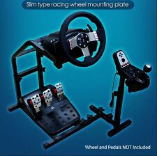 Logitech Driving Gaming Mounting Plate GT G29 G27 G25 Slim Racing Wheel Stand