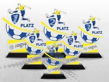 Fussball Pokale ACRYL Color mit DEINEM individuellen Text & Logo! Günstig kaufen