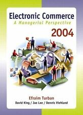 Electronic Commerce 2004: A Managerial Perspective, Third Edition-ExLibrary