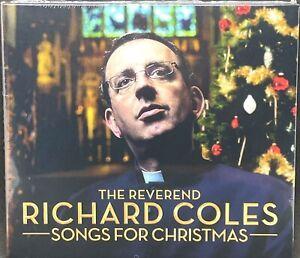 THE REVEREND RICHARD COLES SONGS FOR CHRISTMAS, DOUBLE CD ALBUM, (2017) *NEW*