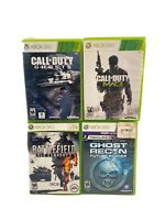 XBOX 360 4 Games Call Of Duty Mw3,Call Of Duty Ghost ,battlefield ,Ghost Recon