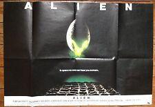 Alien Original UK Quad Film Poster