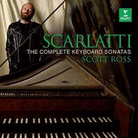 SCOTT ROSS - SÄMTLICHE SONATEN (GA) 34 CD NEU SCARLATTI,DOMENICO