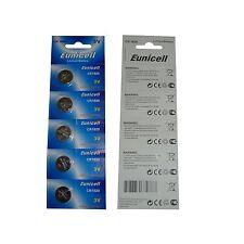 EUNICELL CR1620 Lot de 5 Piles CR1620 3V sous blister EUNICELL