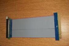 PCI-E 16X PCI-Express Riser Card Extender Cable Flexible Ribbon Ships from Fl