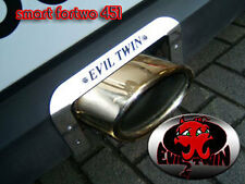 EVIL TWIN OVAL EXHAUST FOR SMART FORTWO 451