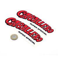 Fantic Motor Caballero Stickers Classic Motorbike Decals Vinyl 150mm x2