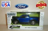 Jada Just Trucks Diecast 2017 Ford F-150 Raptor Blue 1:32