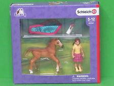 Schleich® Horse Club 42361 Fohlen mit Decke Blitzversand per DHL-Paket