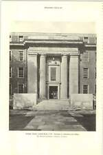 1927 Friends House Euston Road Entrance To Administrative Block