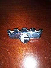 "Frigidaire Rm-27 Oven Stove Range Vintage Crown Emblem Badge 2"" long."