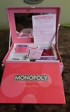 Monopoly Boutique Edition Complete Game Exclusive 2007 Pink Jewelry Keepsake Box