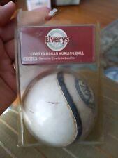 Elverys Hogan Hurling Ball~Genuine Cowhide Leather
