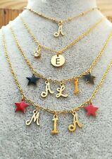Collana nome personalizzabile oro/argento con charms acciaio BSTRONG ACCESSORIES