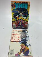 THE AMAZING X-MEN #3 MAY 1995 + X-Men XForce #48 - Set Of 2!