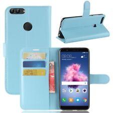 Cartera De Bolsillo PREMIUM AZUL para Huawei Enjoy 7s/P Inteligente