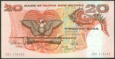 TWN - PAPUA NEW GUINEA 10a - 20 Kina 1989 UNC Prefix SBX