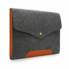 Sinoguo Gray Felt Case Sleeve Pouch for 11 in. Macbook Air/Laptop/Notebook/