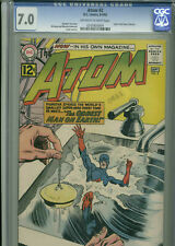 Atom #2 - 8-9/1962 - CGC 7.0 - (Letter from Dave Cockrum)