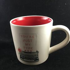 New listing Magenta Retrp You'Re Just My Type Coffee Mug Makers of Rae Dunn