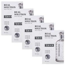 MISSHA Real Solution Tencel Sheet Mask 25g - Pure Whitening 5pcs