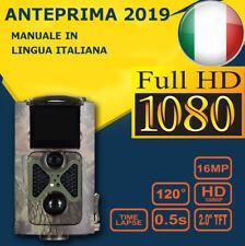 FOTOTRAPPOLA MIMETICA SPIA VIDEOCAMERA  NOMMS MAIL INFRAROSSO INVISIBILE 16MP HD