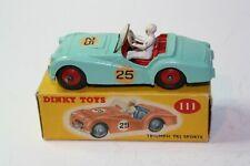 Dinky 111 Triumph TR2 Sports, Very Near Mint in Mint Original box